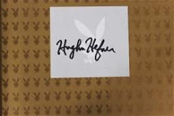 Book Signed by Hugh Hefner