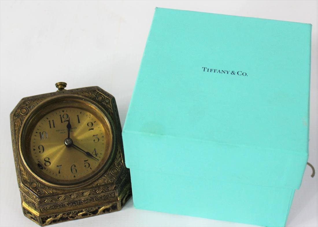 Tiffany Studios Desk Clock - 3
