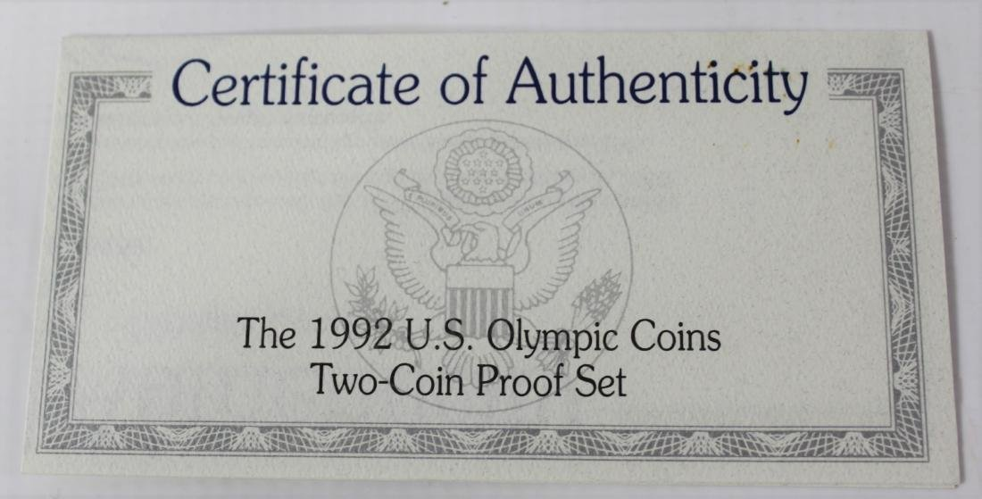 Olympic Baseball And Gymnastic Coin - 6