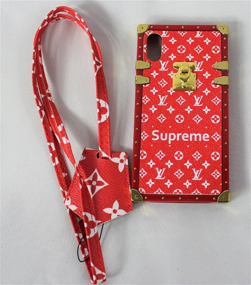 new arrival f8837 05acc Louis Vuitton Supreme Phone Case