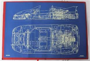 Ferrari Blueprint