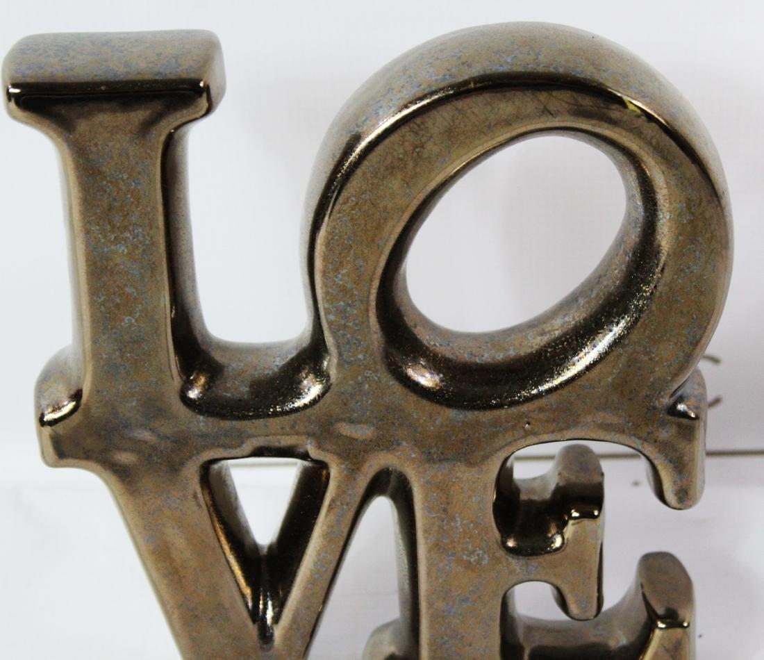 Robert Indiana LOVE Sculpture - 2