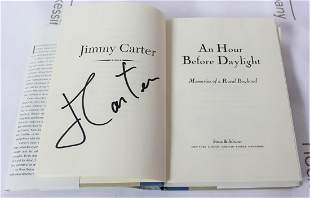 Book Signed By Jimmy Carter