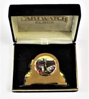 Salvador Dali Collectors Clock