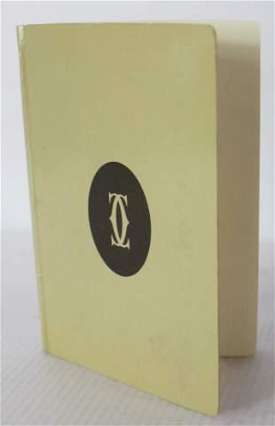 Cartier Phone Book