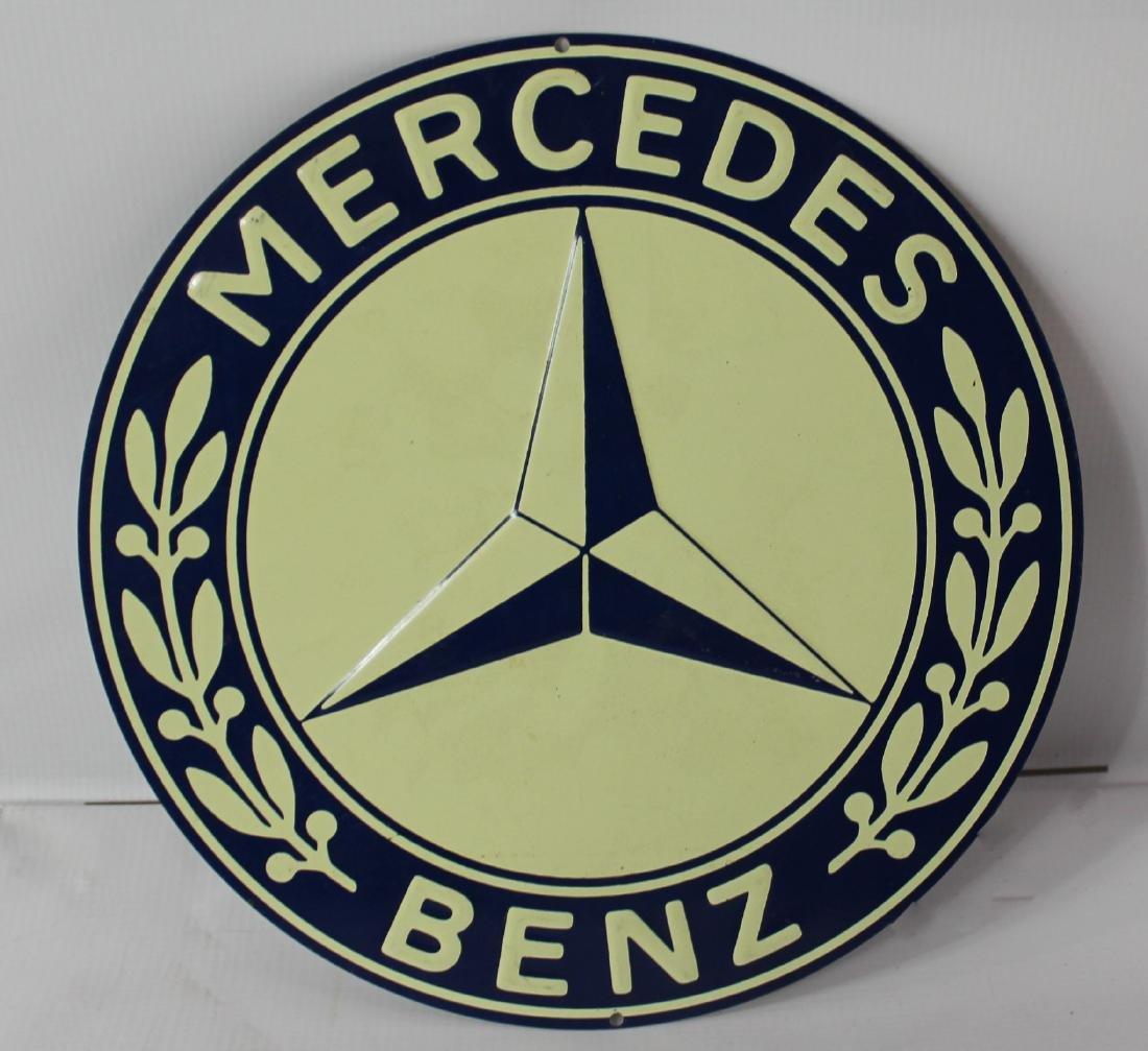 Mercedes Benz Embossed