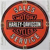 Harley Davidson Sign