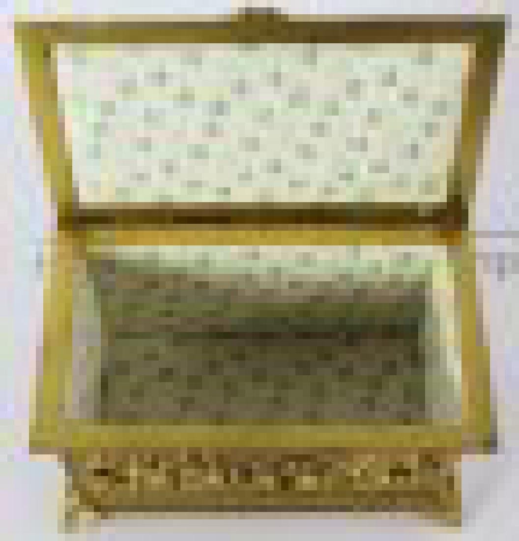 French Gilt Metal Jewelry Box - 5