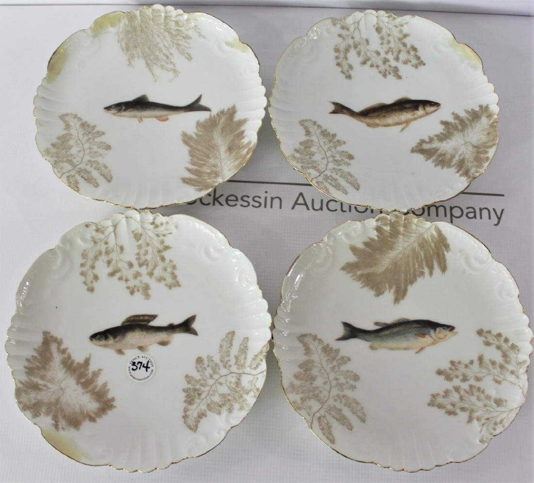 French TV Limoges Plates
