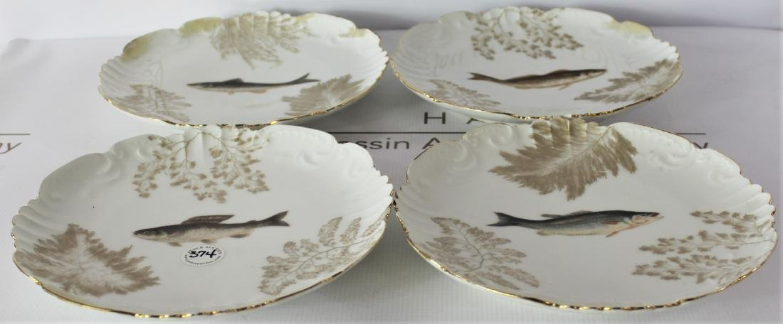 French TV Limoges Plates - 2