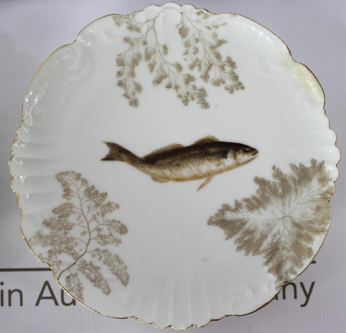 French TV Limoges Plates - 4