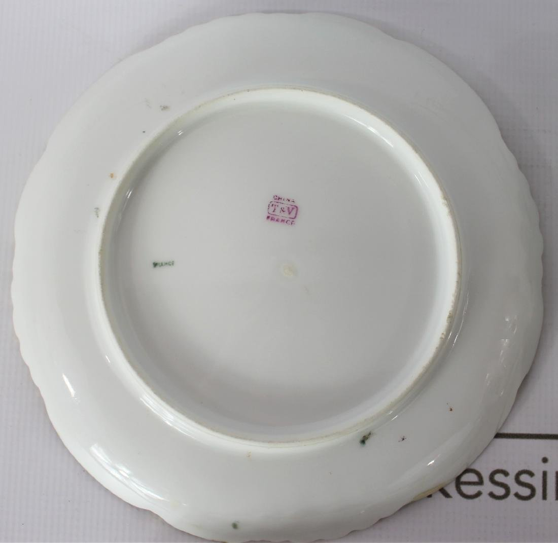 French TV Limoges Plates - 7