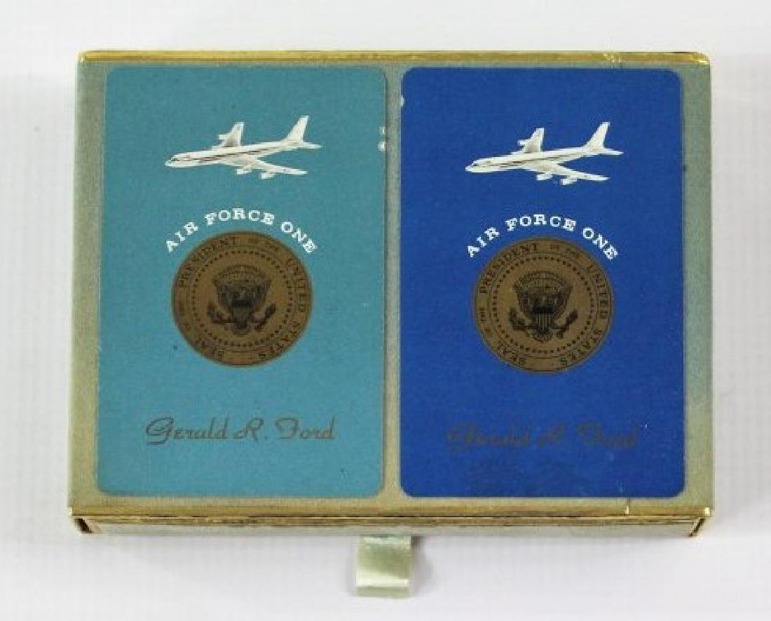 President Gerald R. Ford Air Force One Cards - 2