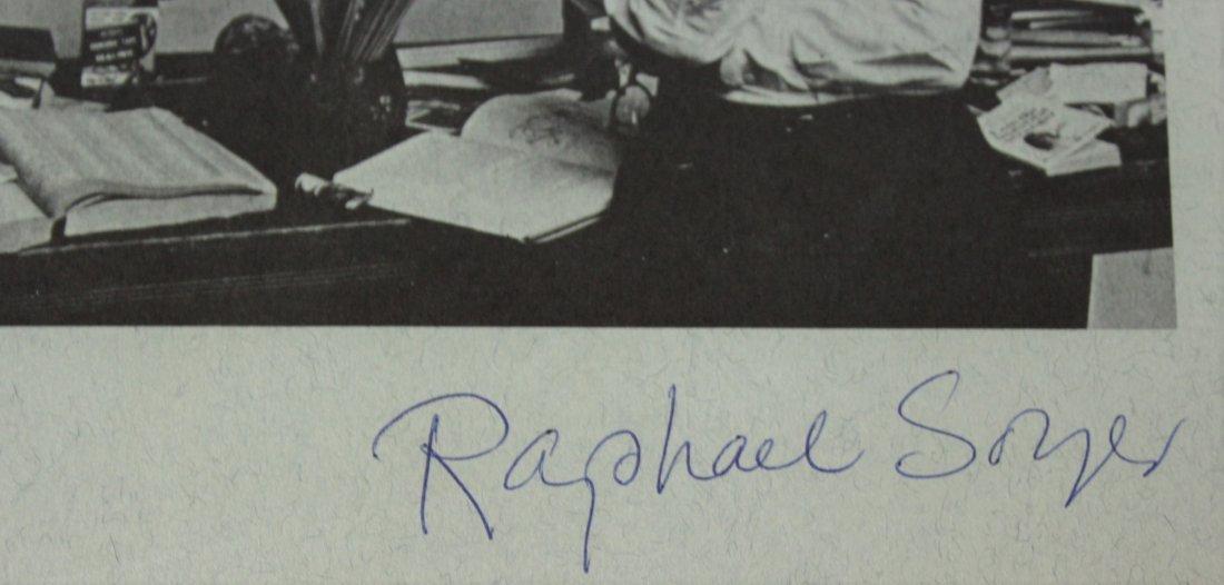 Raphael Soyer autograph - 2
