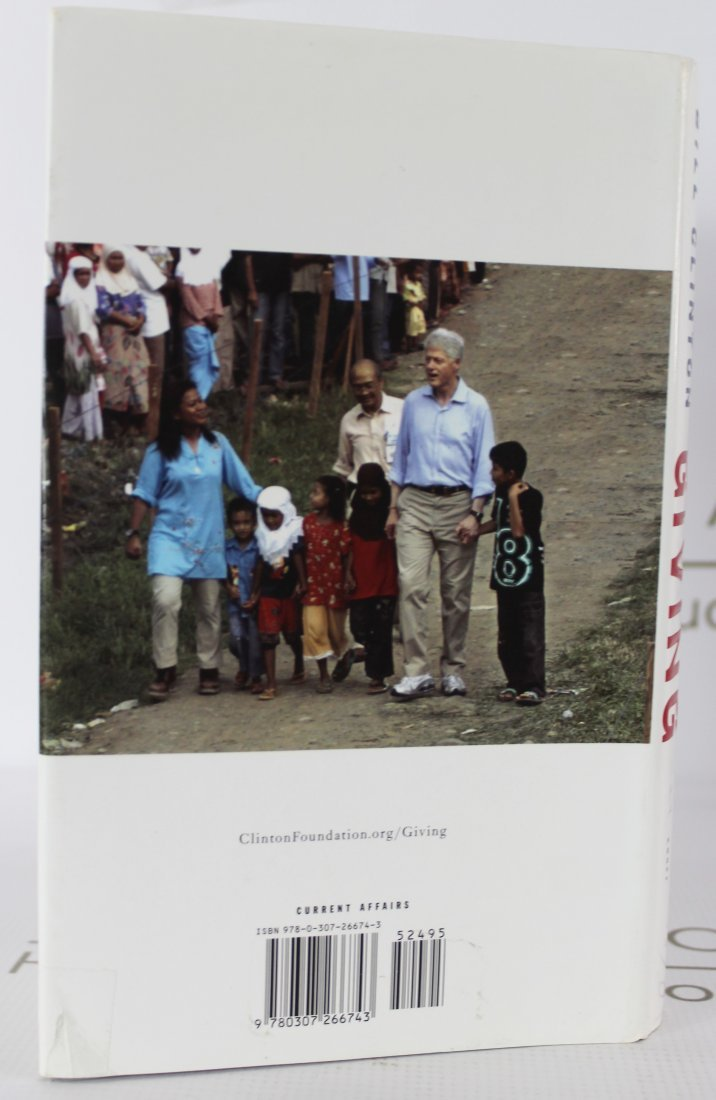 Book Signed by President Bill Clinton - 3