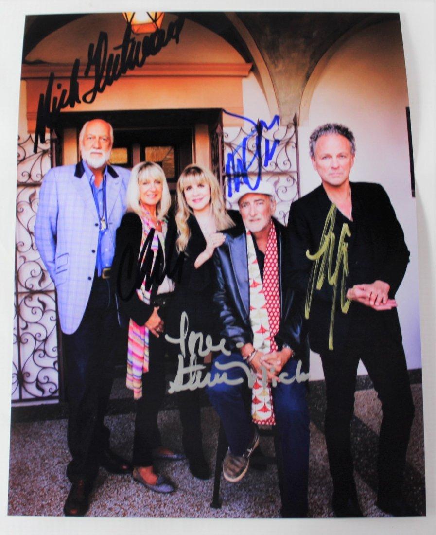 Fleetwood Mac Band Signed Photo