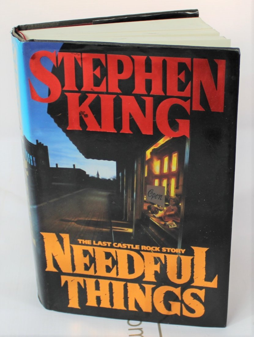Stephen King Signed book - 3