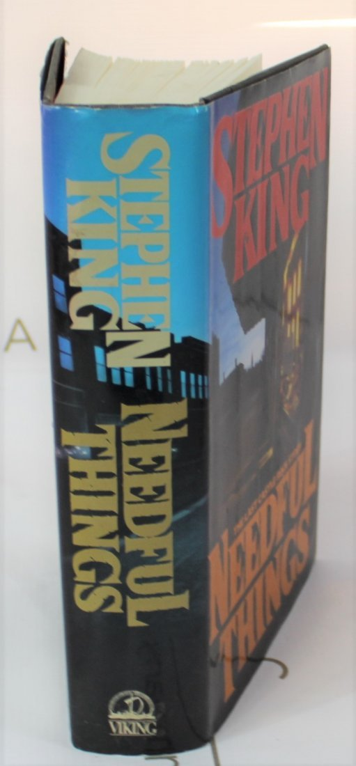 Stephen King Signed book - 4
