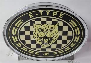 Jaguar Garage Sign