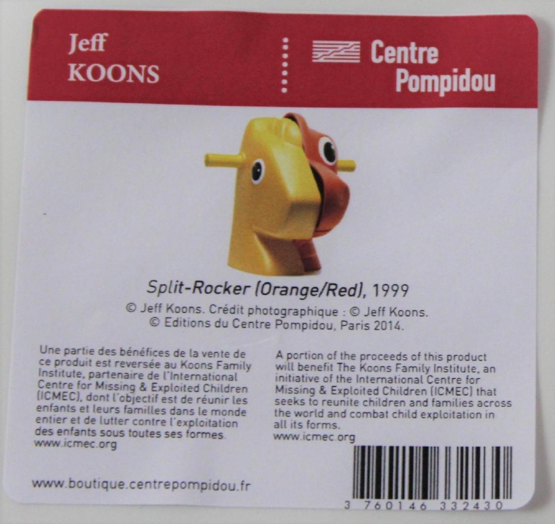 Jeff Koons, Split Rocker Plate - 3