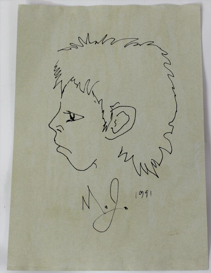 Michael Jackson Personal Drawing