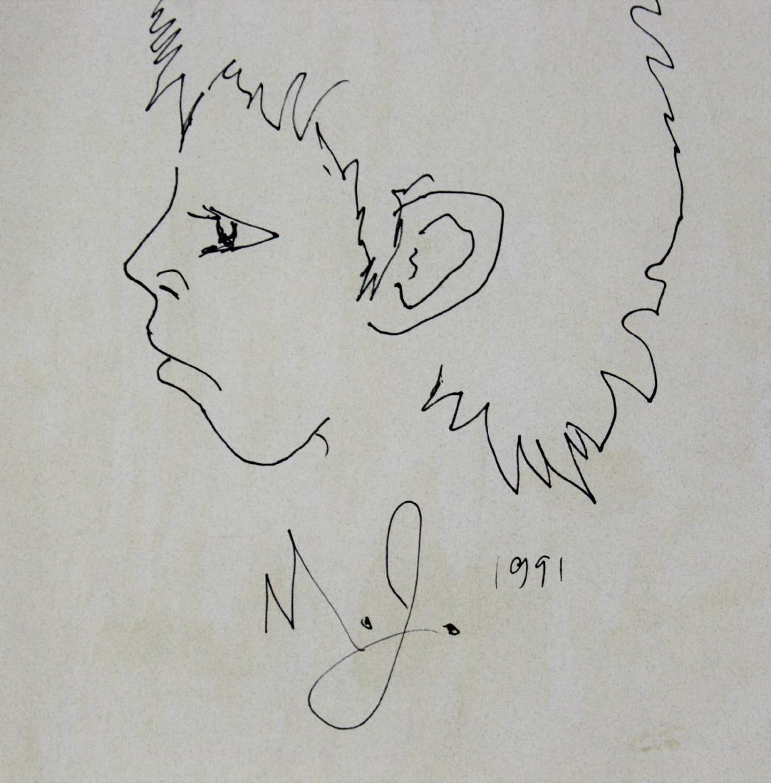 Michael Jackson Personal Drawing - 2
