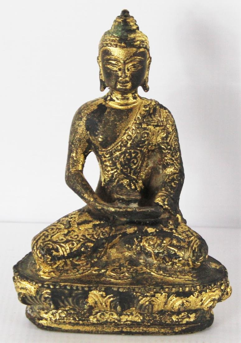 Chinese, Qing Dynasty, Buddha Sculpture