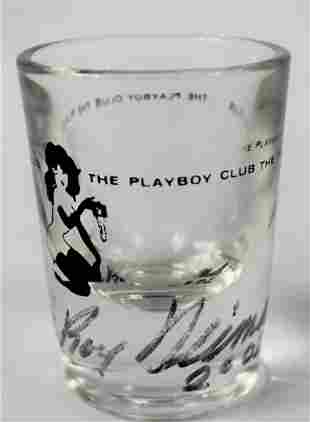 LeRoy Neiman Signed Shot Glass