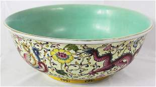 Chinese Dragon Bowl