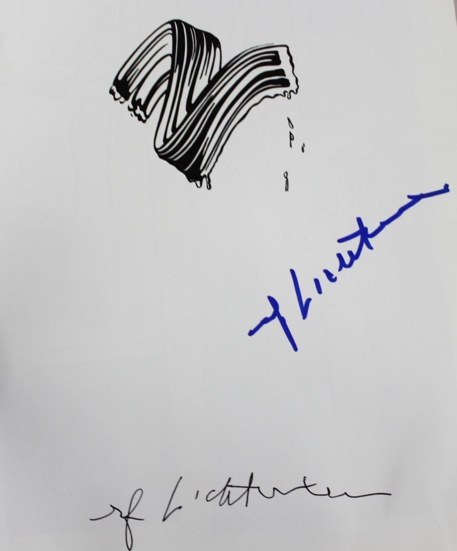 Roy Lichtenstein, Signed Art Book
