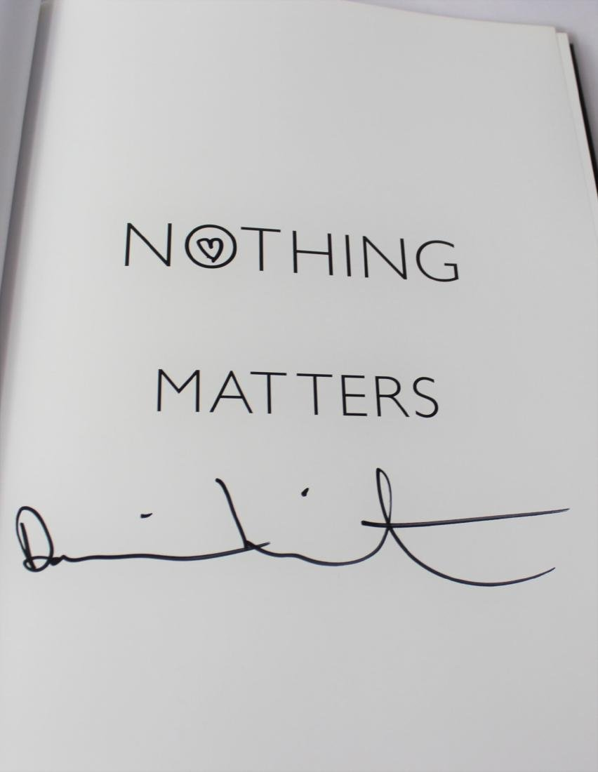 Damien Hirst, Signed Book