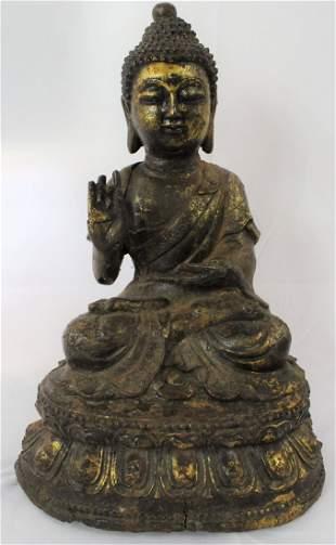Ming Statue of Buddha