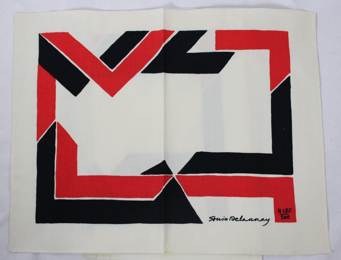 Sonia Delaunay Signed Fabric