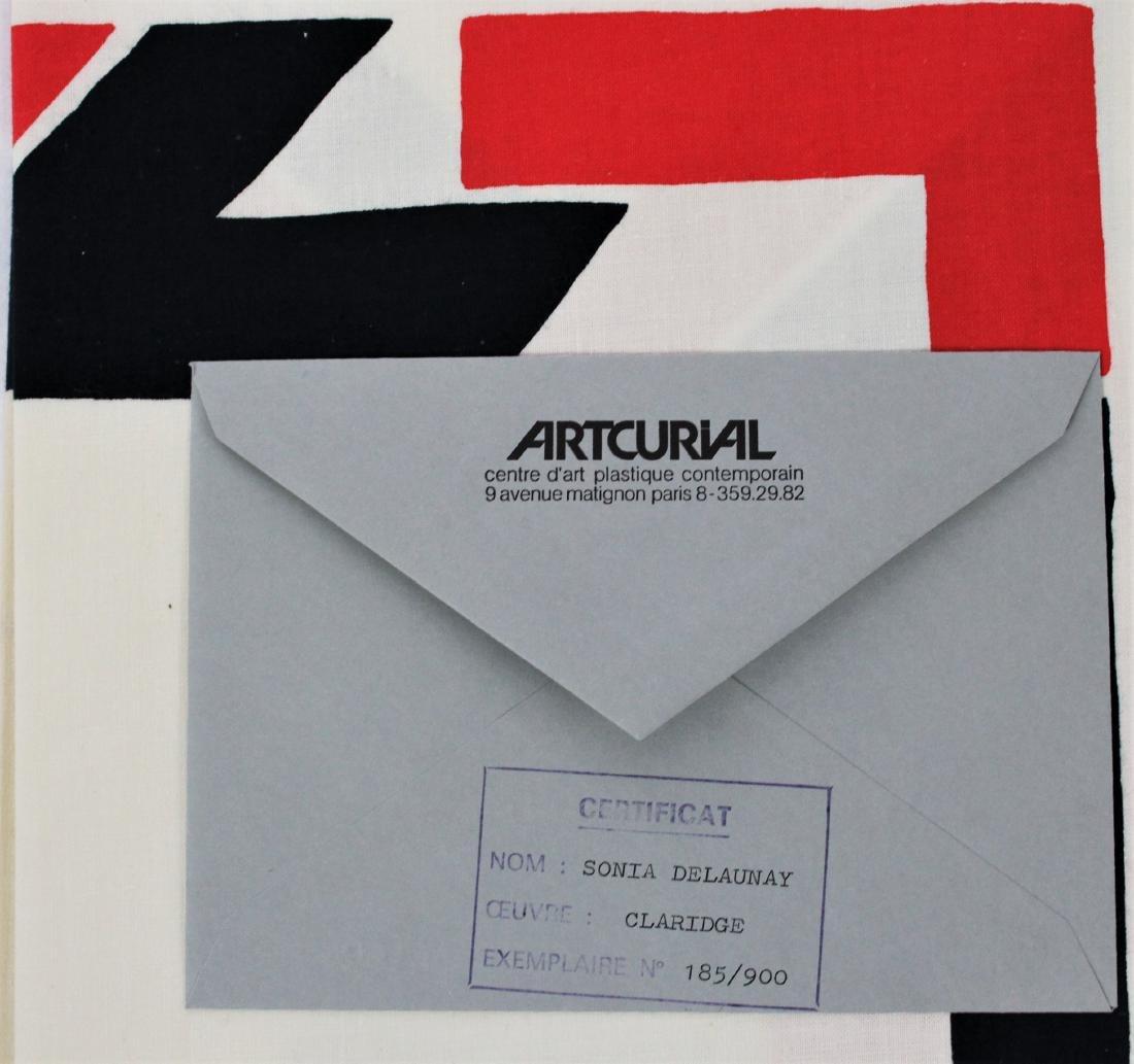 Sonia Delaunay Signed Fabric - 2