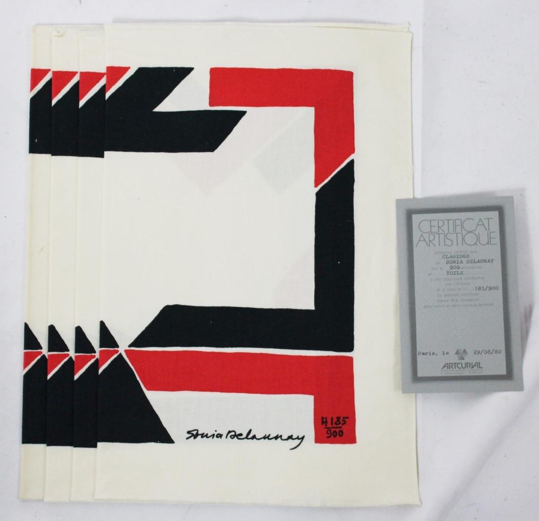Sonia Delaunay Signed Fabric - 3