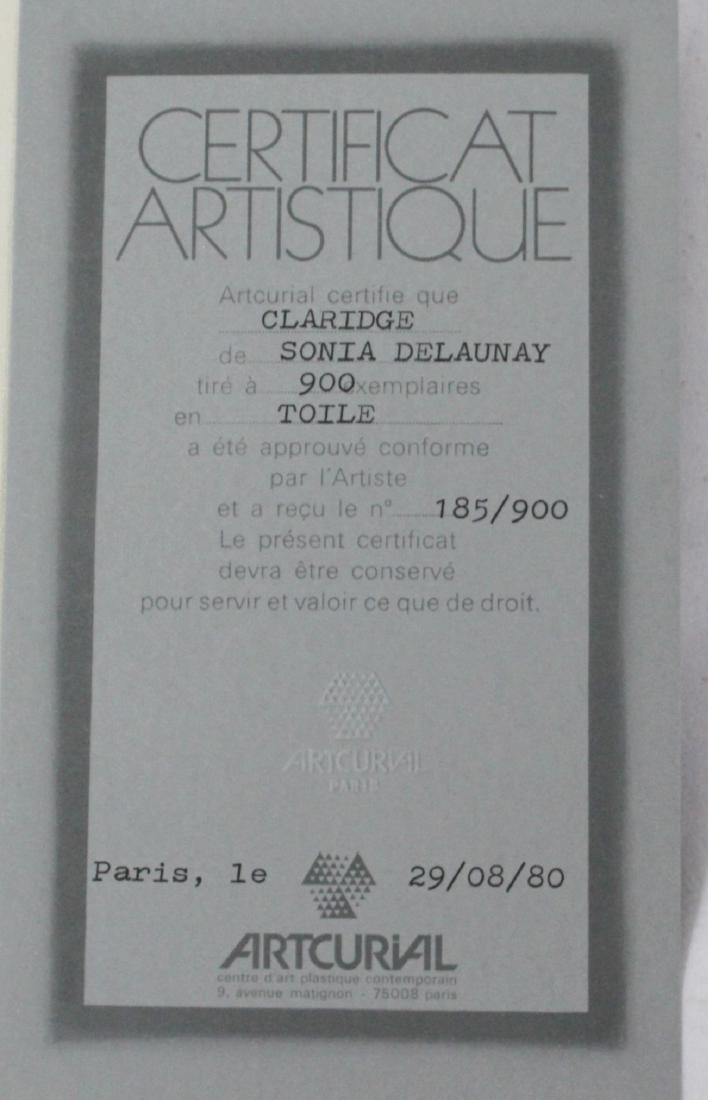 Sonia Delaunay Signed Fabric - 4