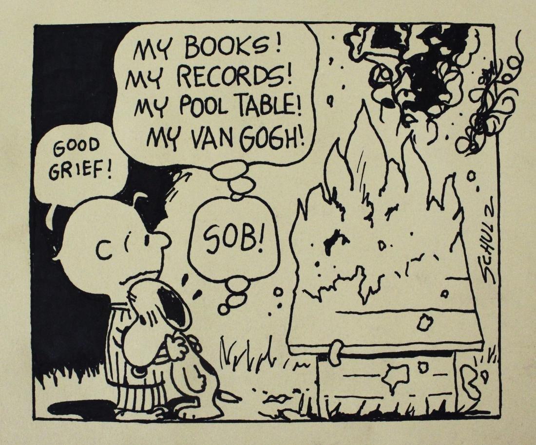 Charles Shulz Comic - 4