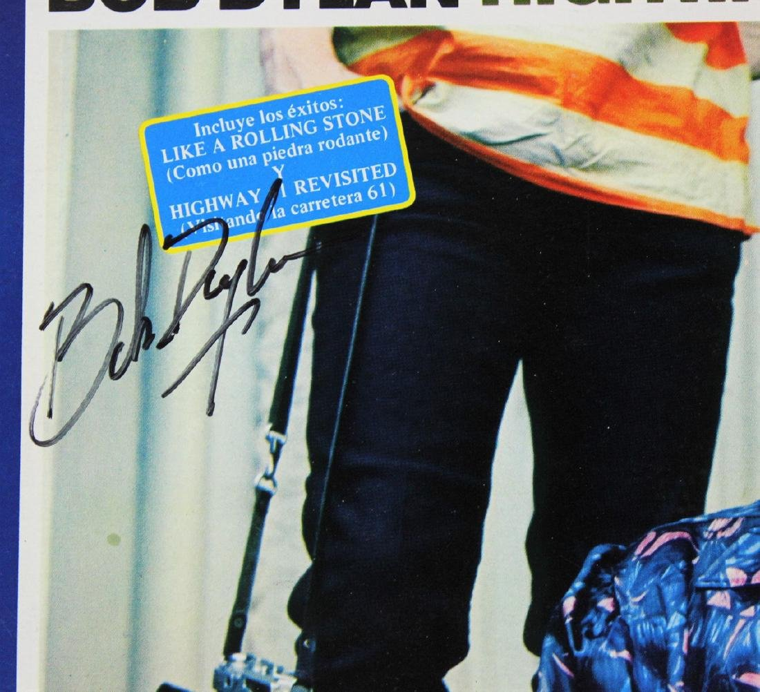 Bob Dylan Signed Record - 3