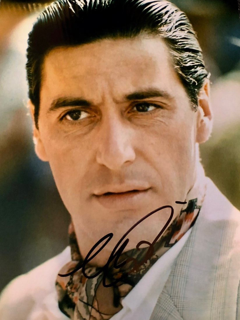 Al Pacino Signed Photograph
