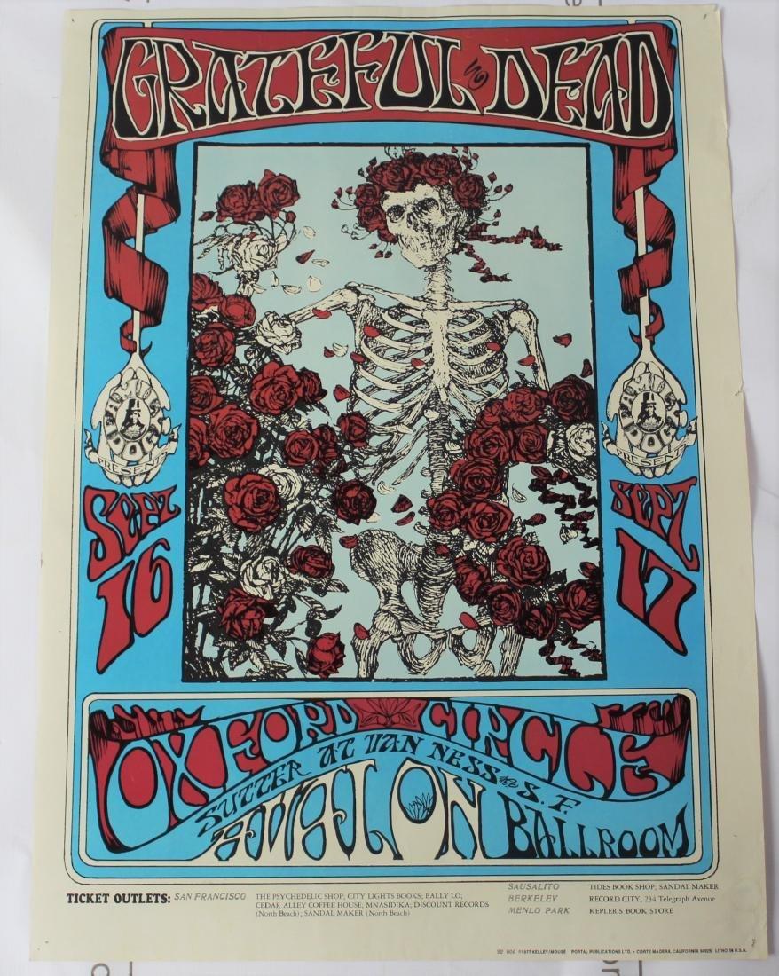 The Grateful Dead Poster
