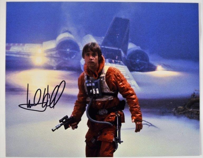 Mark Hamill Signed Photograph