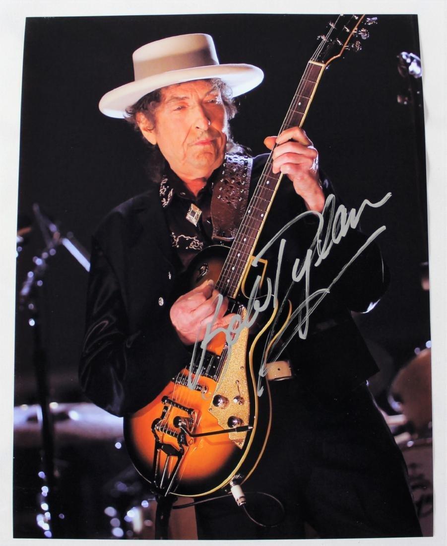 Bob Dylan Autographed Photo