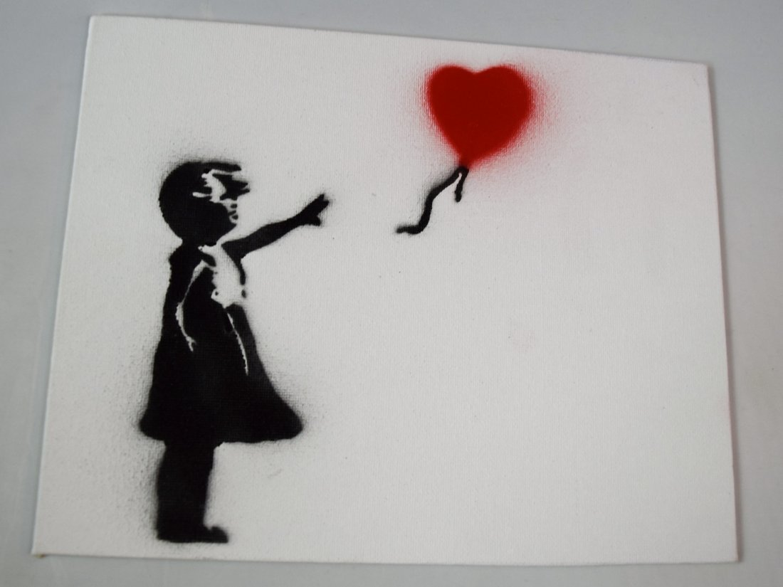 Banksy Dismaland Painting w/Authentication
