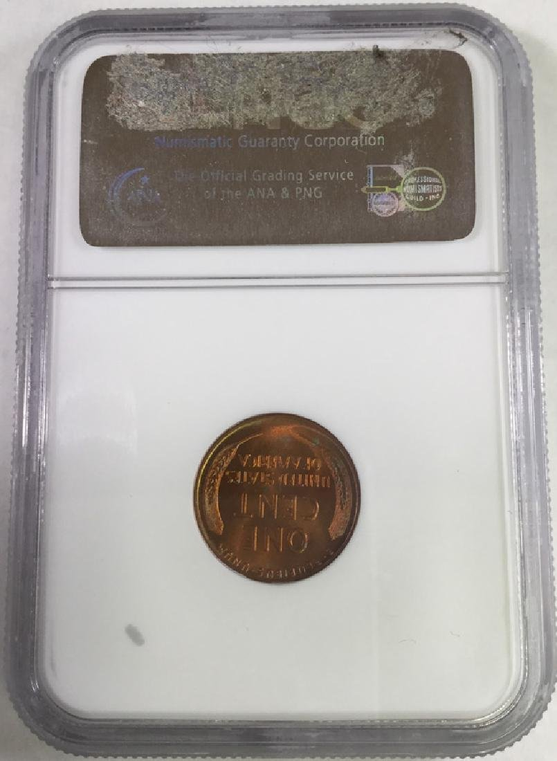 1941D 1 CENT LINCOLN PENNY MS66 RD - 2