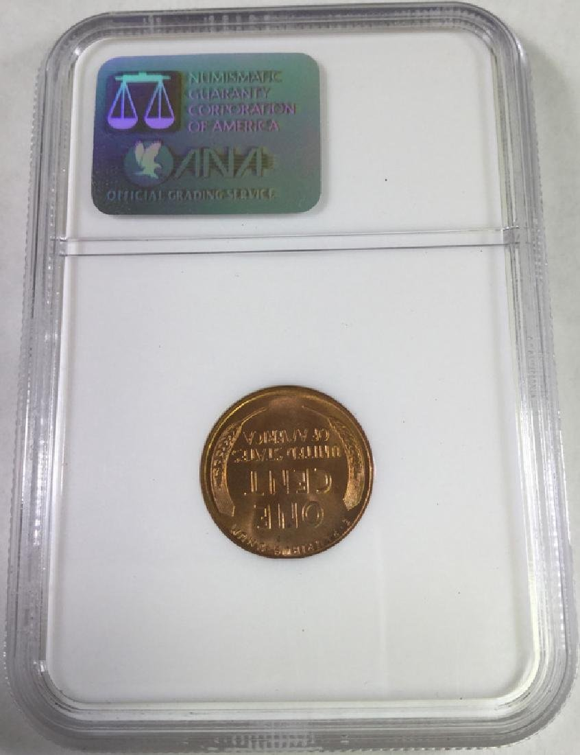 1941 S 1 CENT LINCOLN PENNY MS66 RD - 2