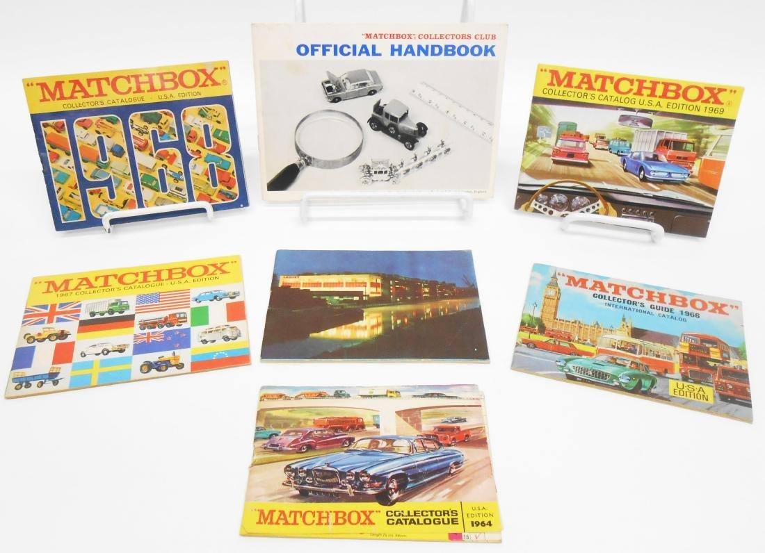 1960'S MATCHBOX CATALOGS & HANDBOOK