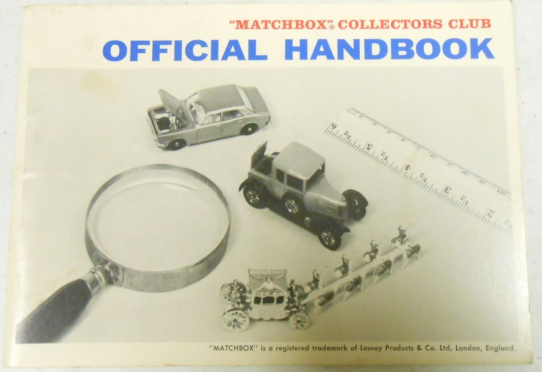 1960'S MATCHBOX CATALOGS & HANDBOOK - 3