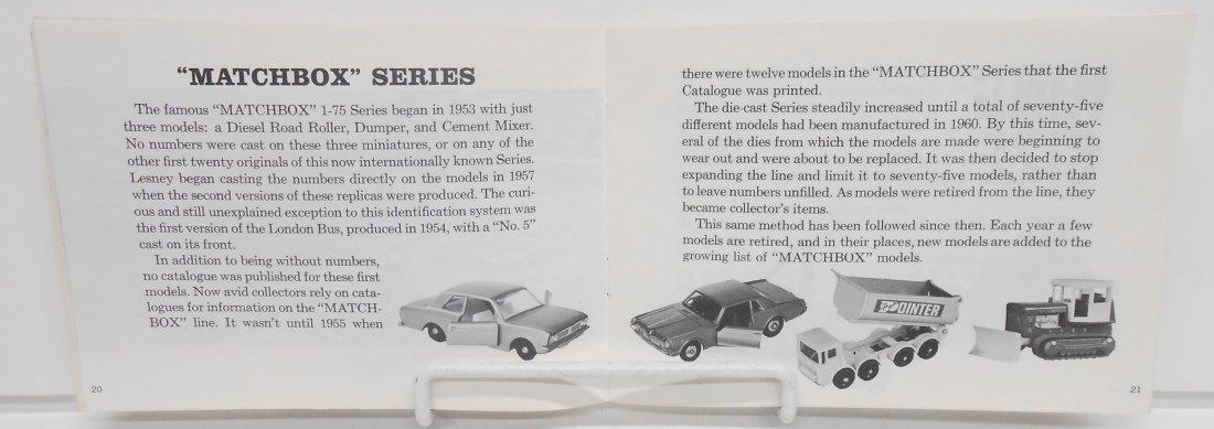 1960'S MATCHBOX CATALOGS & HANDBOOK - 4