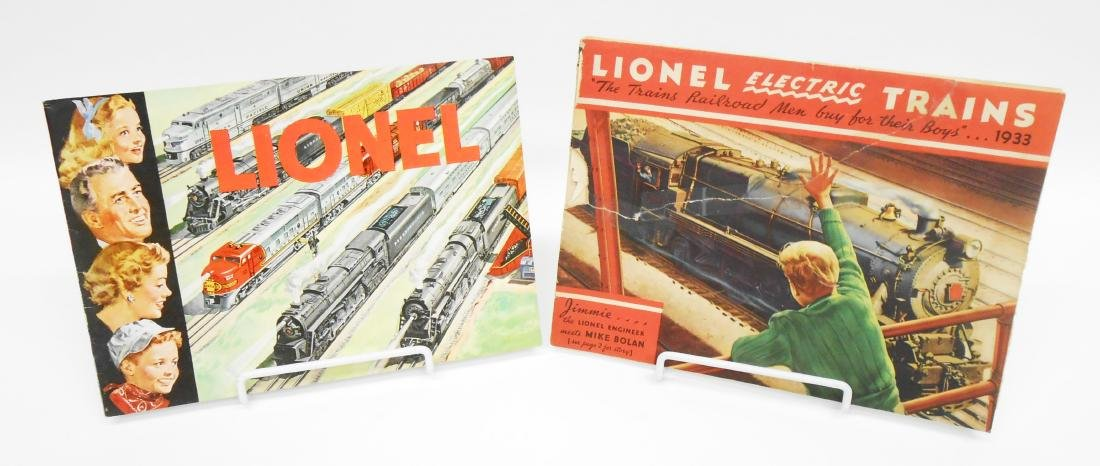 (5) LIONEL TRAIN & TOY CATALOGS - 2