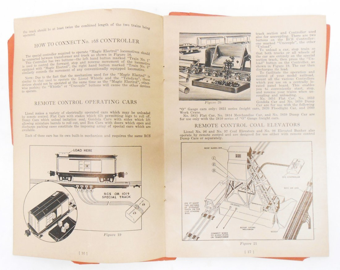 (5) LIONEL TRAIN & TOY CATALOGS - 4